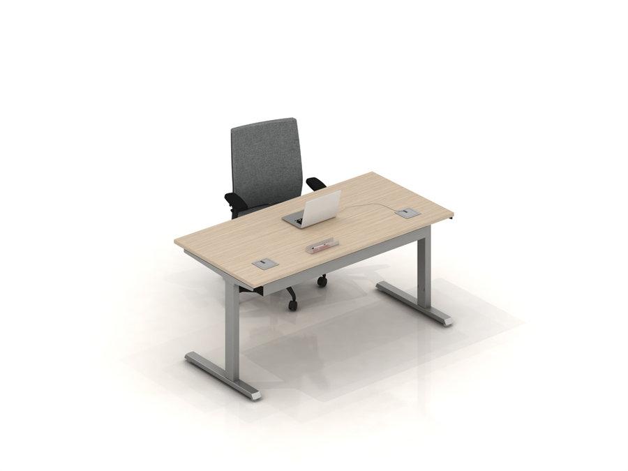 bureau droit inn o 160x80. Black Bedroom Furniture Sets. Home Design Ideas