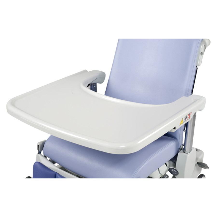 tablette repas pour fauteuil avec accoudoirs r glables. Black Bedroom Furniture Sets. Home Design Ideas