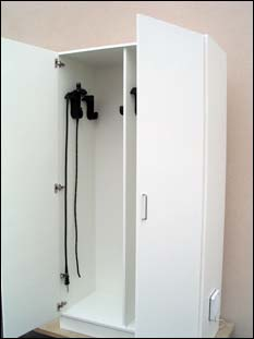 armoire de stockage 10 endoscopes 2 portes. Black Bedroom Furniture Sets. Home Design Ideas