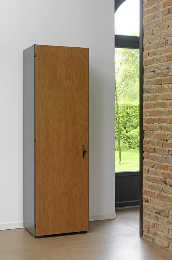 vestiaire m lamin placage bois amphit o 197x61 1. Black Bedroom Furniture Sets. Home Design Ideas