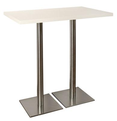 Table Haute Solidor 110 X 70 Cm Pi Tement Central Paisseur 40 Mm