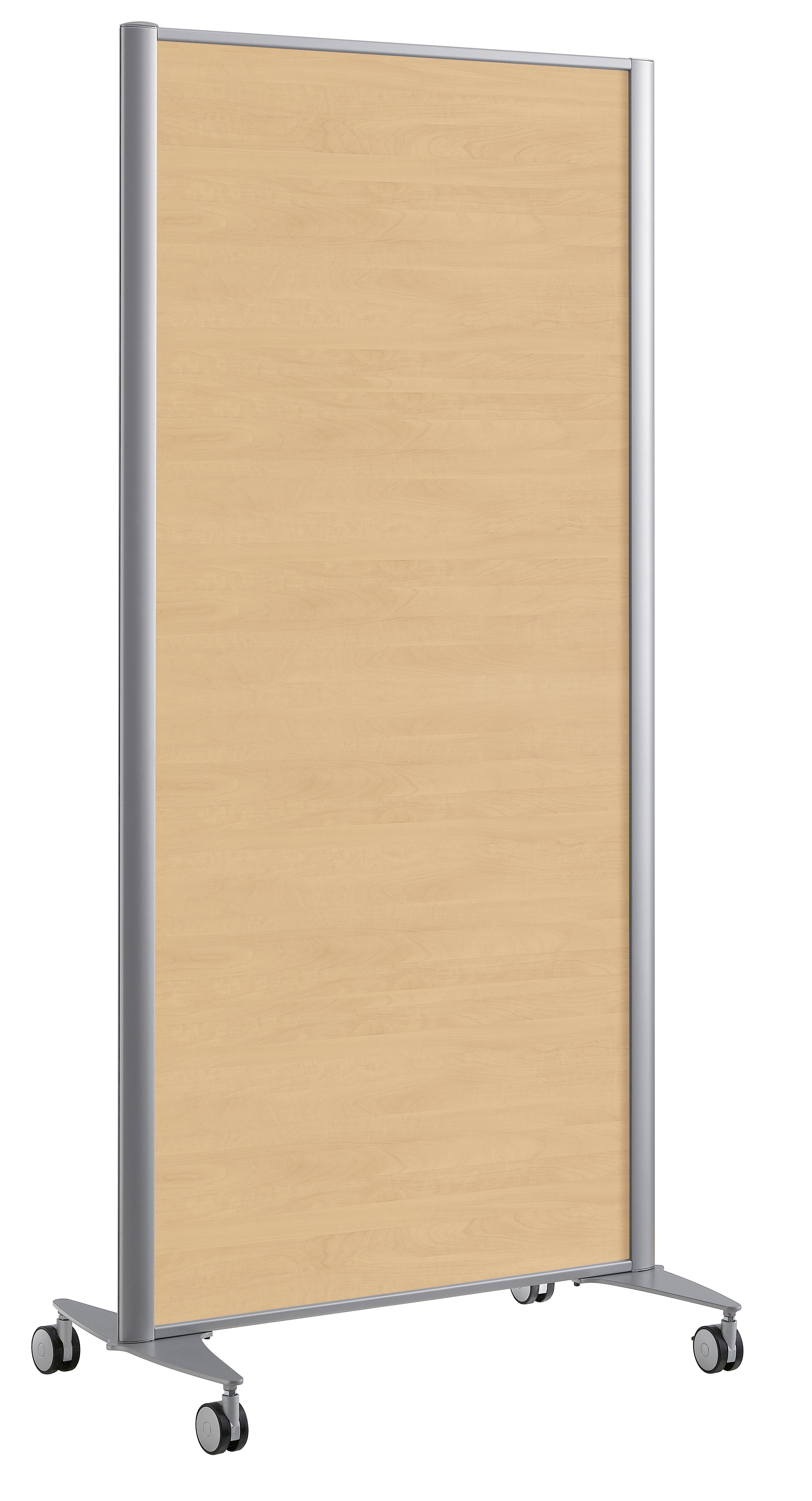 cloison droite kp 160x81 m lamin 2 pieds sur roulettes. Black Bedroom Furniture Sets. Home Design Ideas