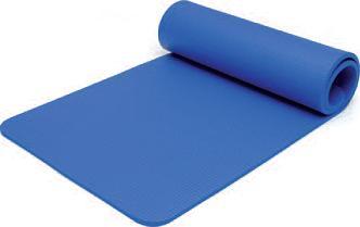natte de gymnastique sissel pro bleue 179 61 1 5cm. Black Bedroom Furniture Sets. Home Design Ideas
