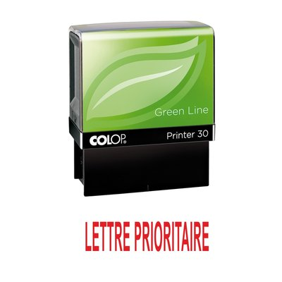 Tampon formule LETTRE PRIORITAIRE - Colop Printer 30 - 47 x 18 mm