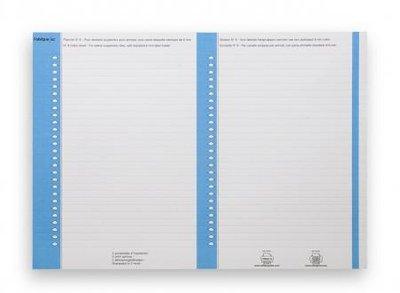 planches etiquettes pour dossier suspendu n 8 bristol bleu lot de 10. Black Bedroom Furniture Sets. Home Design Ideas
