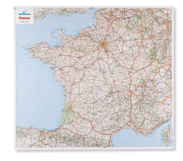 carte de france routiere