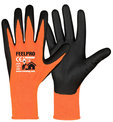 Gants tricotés polyamide enduction nitrile Feelpro Rostaing - tricot polyamide - lot de 10 paires
