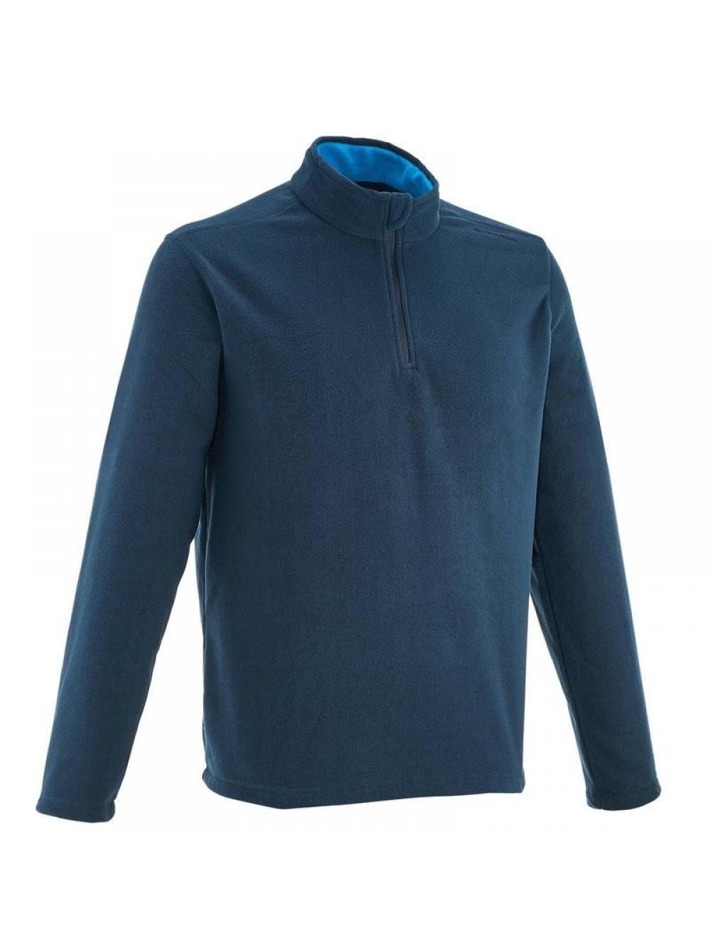 Sous-veste tricot polaire Décathlon - 100 % polyester - bleu marine 6c4379c3169