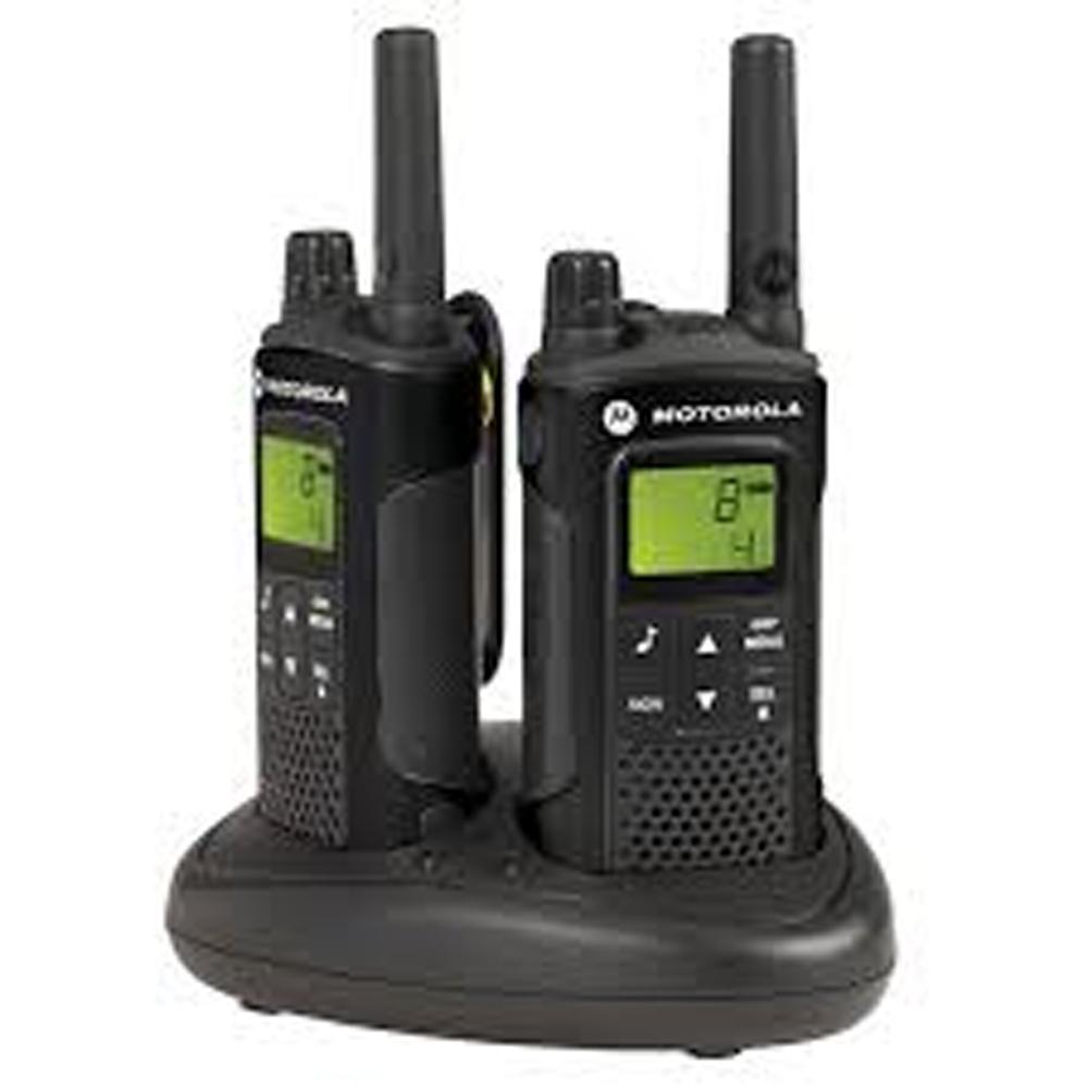 talkies walkies motorola xt180 x 2 avec batteries chargeur prix pour plus de 25 unit s. Black Bedroom Furniture Sets. Home Design Ideas