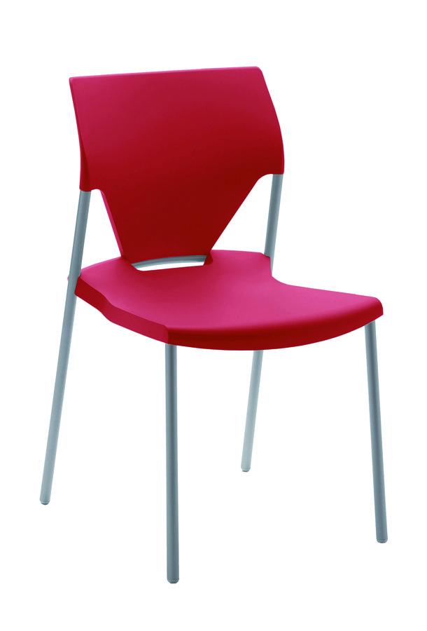 chaise 4 pieds ioko polypropyl ne sans placet pi tement poxy empilable et accrochable. Black Bedroom Furniture Sets. Home Design Ideas
