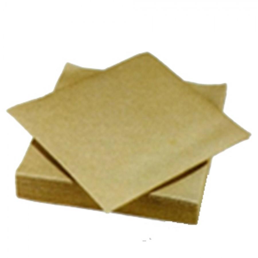 Serviette voie s che or 40 x 40 cm lot de 24 paquets de 25 - Seche serviette 40 cm ...