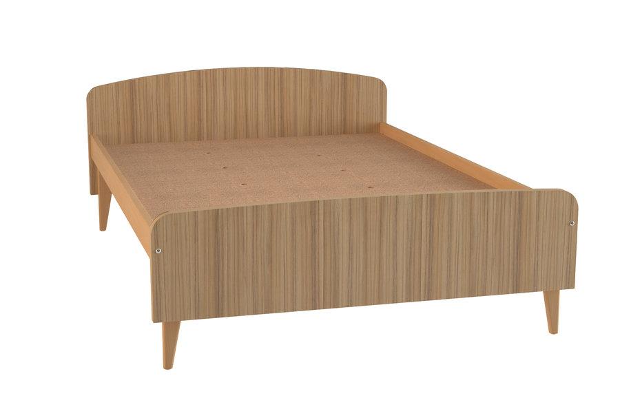 lit lagune 140 x 200 cm sommier panneau pour personne mobilit r duite. Black Bedroom Furniture Sets. Home Design Ideas