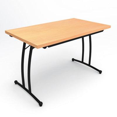 Classime Table Rectangulaire Pliante 120 Époxy 70 Piétement Cm X 3u5lF1cJTK