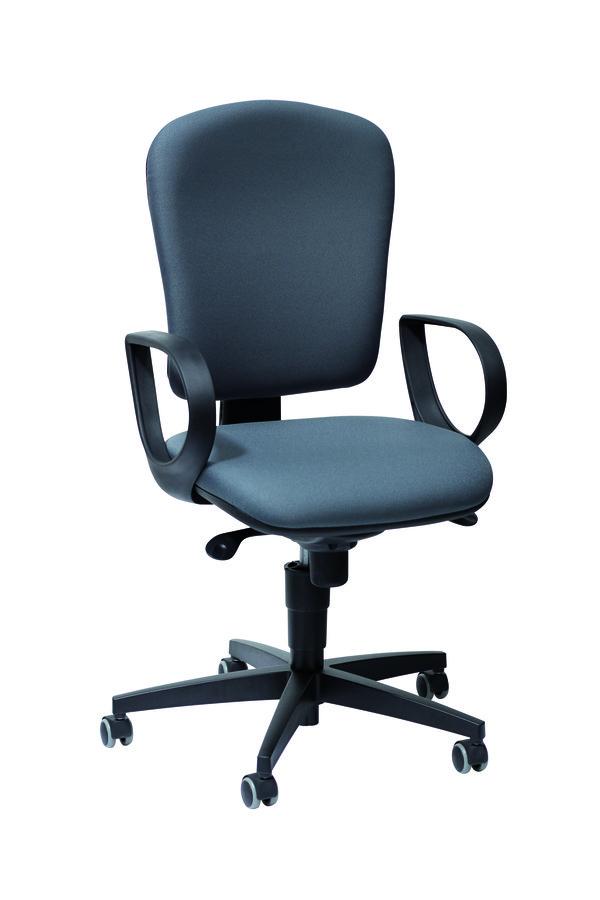 fauteuil de bureau jump tissu. Black Bedroom Furniture Sets. Home Design Ideas