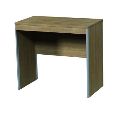 bureau edison style sans tiroir montants alu. Black Bedroom Furniture Sets. Home Design Ideas