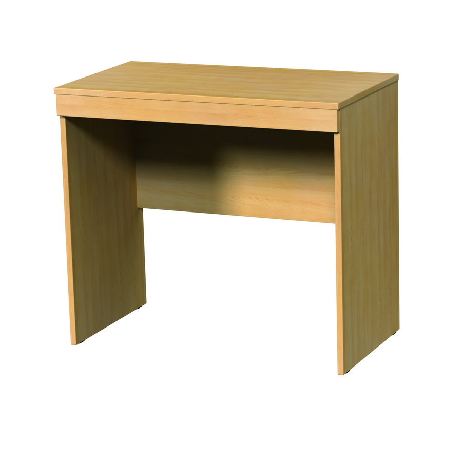 bureau edison classic sans tiroir. Black Bedroom Furniture Sets. Home Design Ideas