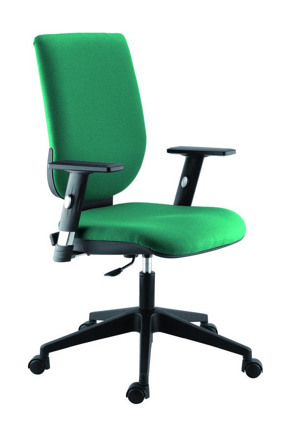 fauteuil de bureau tertio tissu. Black Bedroom Furniture Sets. Home Design Ideas