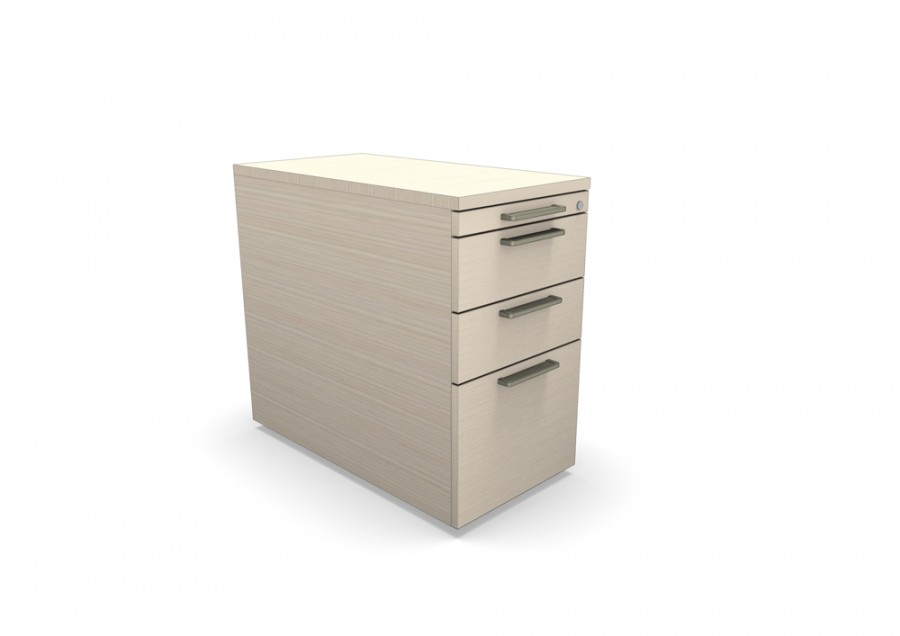 caisson hauteur de bureau m lamin ology 2 tiroirs plats 1 tiroir plumier 1 tiroir. Black Bedroom Furniture Sets. Home Design Ideas