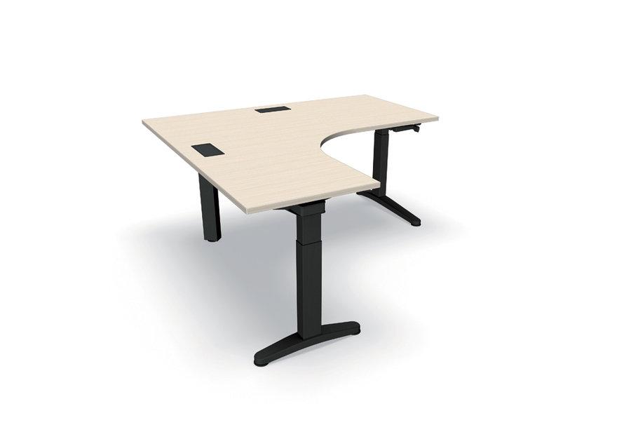 Bureau compact 90 asym trique ology 160x160x80x60 for Bureau 160x60