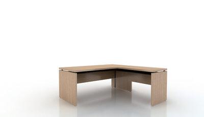 bureau droit amphit o 180x80 avec retour sur pied 100x60. Black Bedroom Furniture Sets. Home Design Ideas