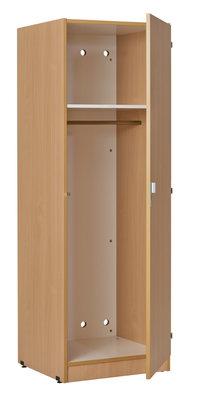 armoire penderie 1 porte kumyos l 60 x h 180 x pr 59 cm. Black Bedroom Furniture Sets. Home Design Ideas