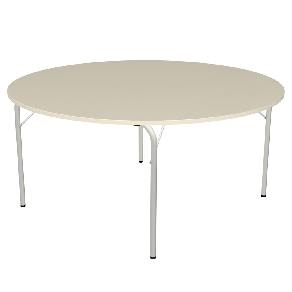 Table pliante Visa - ronde - Ø 160 cm - piétement époxy