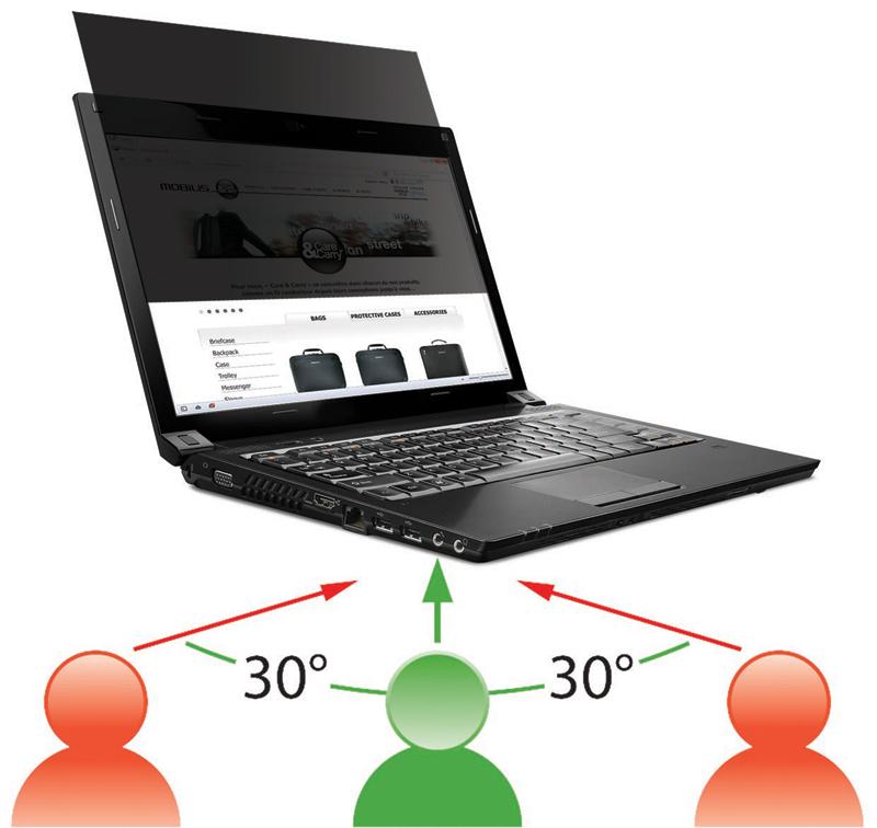 Filtre de confidentialité 3M pour ordinateur portable à écran panoramique 17 ,3   5c24e369b086