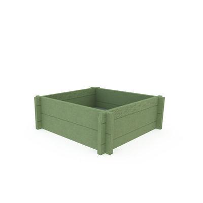 Jardinet plastique recyclé - l. 80 x h. 27 x pr. 80 cm ...