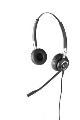 Casque Filaire Pour Téléphone Ip Jabra Biz 2400 Ii Duo New