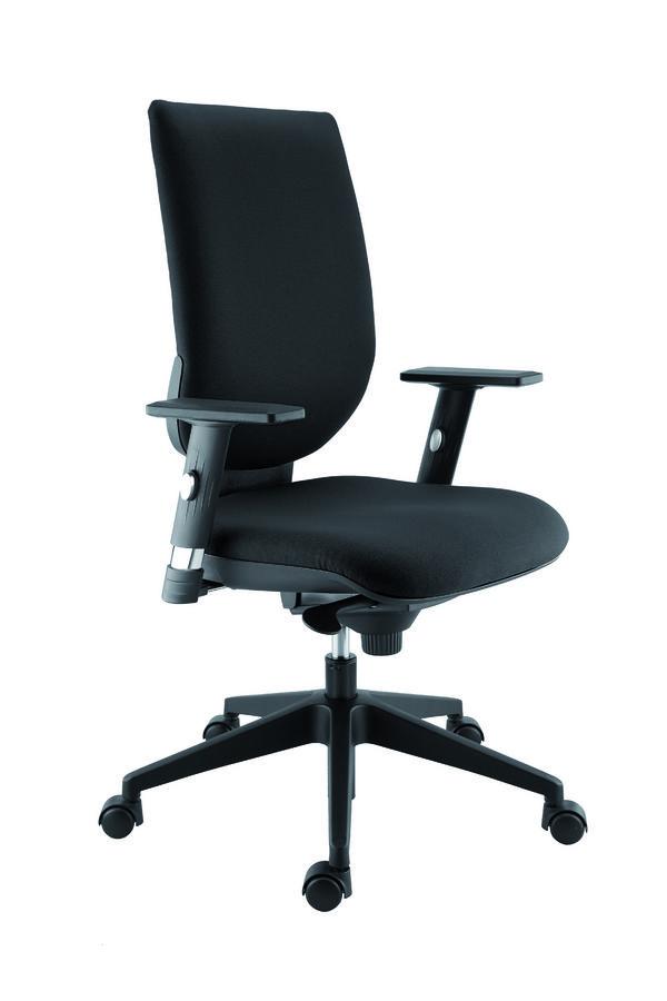 Chaise De Noire Bureau A Roulette IYb7gyfv6