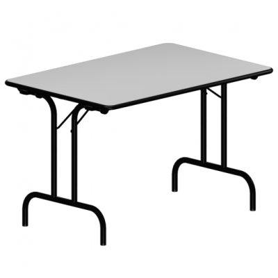 Tpl Cm Table Pliante Rectangulaire 80 120 X Époxy Piétement sQrCBtxhd