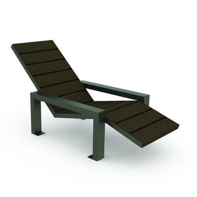 Assise Métal Longue Chaise Osmose Piétement Plastique Recyclé xreBdoCW
