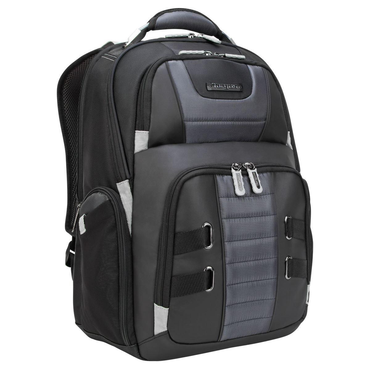 Sac a dos pour ordinateur portable 12'' 15,6'' Targus Drifter Trek USB Power Pass Noir 27 L