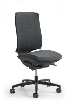chaise de bureau air noir