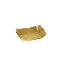 Barquette brune en carton 200 g - lot de 1000