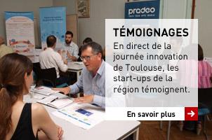 TEMOIGNAGES | En direct de la journée innovation de Toulouse, les start-ups de la région témoignent.