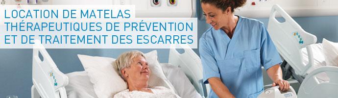 Matelas th rapeutique location - Matelas prevention escarre ...