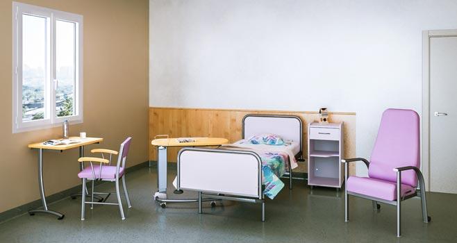 Chambre de psychiatrie on