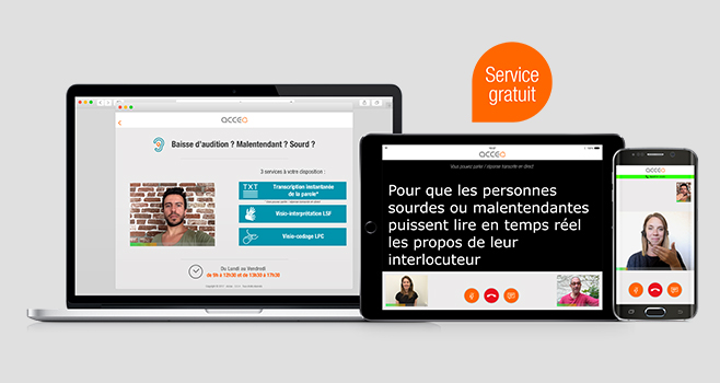 Solution de communication pour personnes en situation de handicap