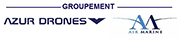 Logo Groupement Azur drones / Air Marine