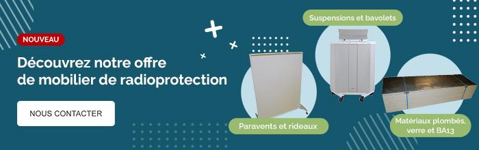 Nous contacter : Découvrez notre offre de mobilier de radioprotection